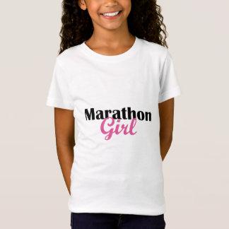 Marathon-Mädchen T-Shirt