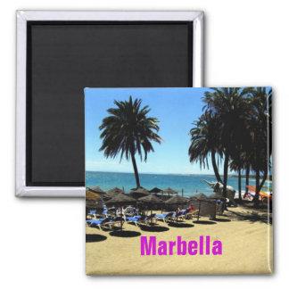 Marbella-Magnet Quadratischer Magnet