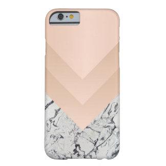 Marbleous Zickzack Beschaffenheiten Barely There iPhone 6 Hülle