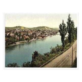 Marburg (d.h., Maribor), allgemeine Ansicht, Postkarte