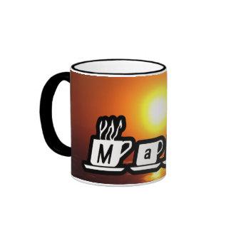 Marc - am Sonnenuntergang Tee Tasse