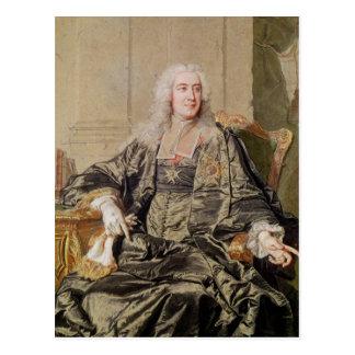 Marc Pierre de Voyer Count von Argenson Postkarte