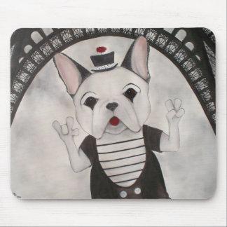 Marcel, die französische Bulldogge Mousepad