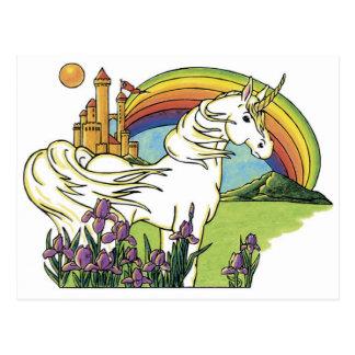 Märchen-Einhorn Postkarte