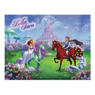 Märchen-Hochzeit Postkarte