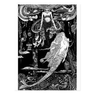 Märchen - Illustration 6 Postkarte