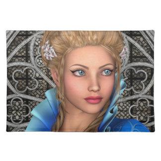 Märchen-Prinzessin Stofftischset