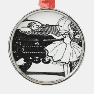 Märchen Silbernes Ornament
