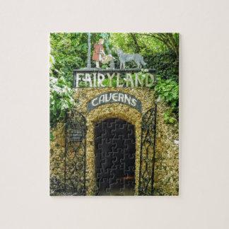 Märchenland-Höhlen-Natur-Fotografie Puzzle