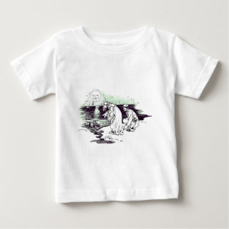 Märchenland-Vintage Illustration Baby T-shirt