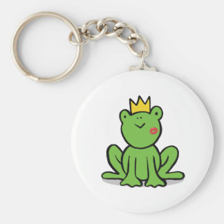 Märchenprinz-Frosch-Schlüsselkette Schlüsselanhänger