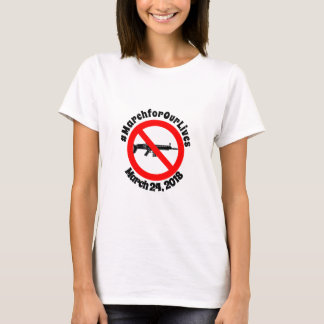 #MarchforOurLives Studentenantigewehr-T - Shirt