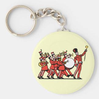 Marching Band Standard Runder Schlüsselanhänger
