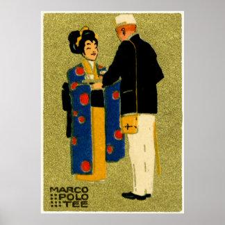 Marco Polo-Tee 1915 Poster