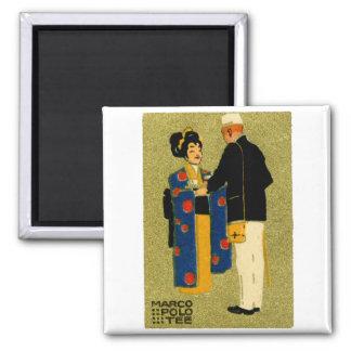 Marco Polo-Tee 1915 Quadratischer Magnet