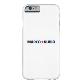Marco Rubio dünner Sitz iphone 6 Fall Barely There iPhone 6 Hülle