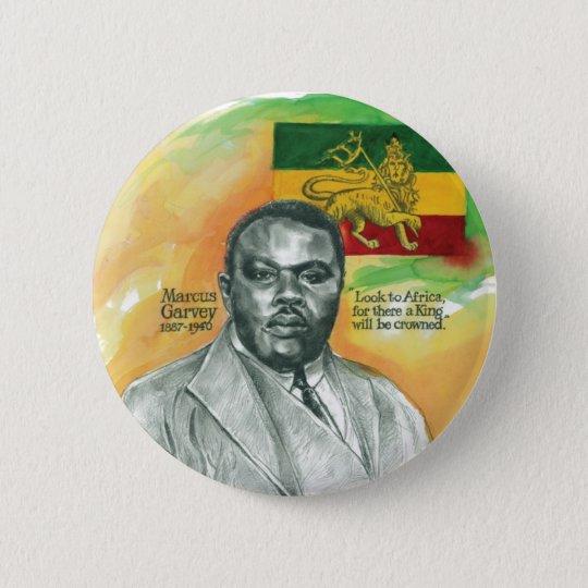 Marcus-Garvey Runder Button 5,1 Cm