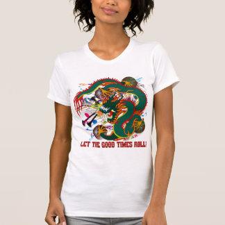 Mard Gras der Drache T-Shirt