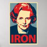 """Margaret Thatcher""""Eisen-"""" Plakat"""