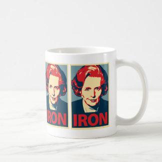 """Margaret Thatcher""""Eisen-"""" Tasse"""