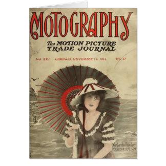 Margarita Fischer 1916 Vintages Porträt still Karte