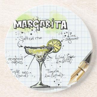 Margarita-Getränk-Cocktail-Geschenk Getränkeuntersetzer