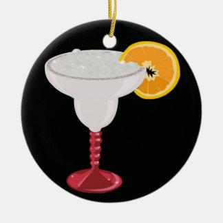 Margarita-Glas Keramik Ornament