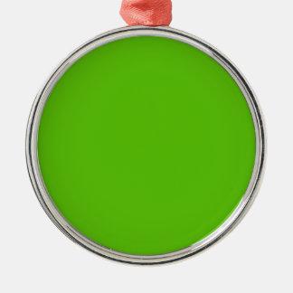 Margarita Limon-Säure lindgrüne im Norden Silbernes Ornament
