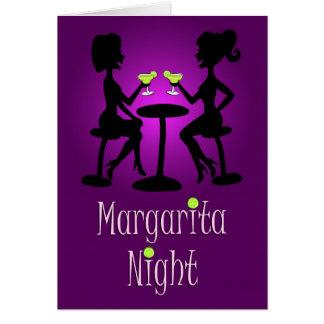 Margarita-Nacht heraus mit den Mädchen! Karte