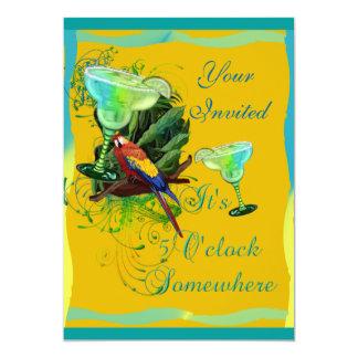 Margarita-Party 12,7 X 17,8 Cm Einladungskarte