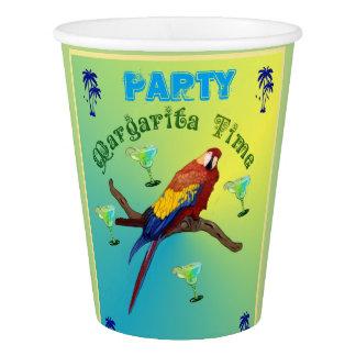Margarita-Party Pappbecher
