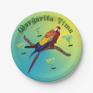 Margarita-Party Pappteller 17,8 Cm