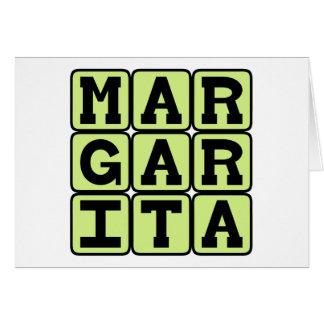 Margarita, Tequila-Mischgetränk Karte