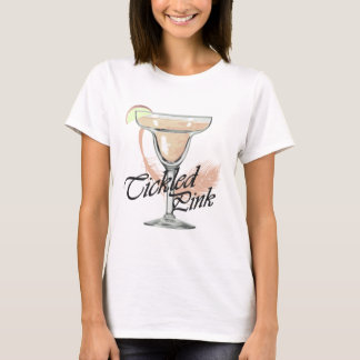 Margarita Tickled rosa Party-T - Shirt