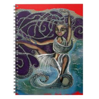 Margarita wickelte im ewigen Wasser ein Notizblock