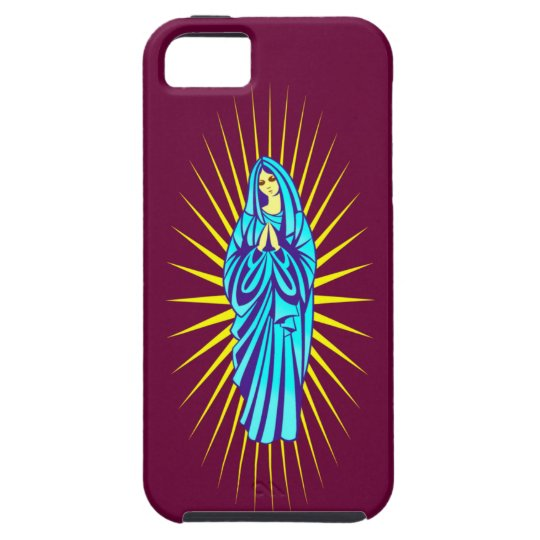 Maria Madonna Virgin Mary iPhone 5 Etuis