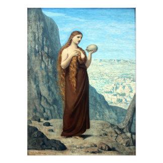 Maria Magdalena in der Wüste durch Puvis de Kunstphoto