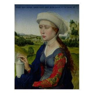 Maria Magdalena, von der rechten Platte Postkarte