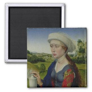 Maria Magdalena, von der rechten Platte Quadratischer Magnet