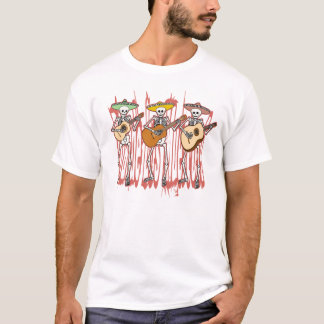 Mariachi-Skelett-Trio T-Shirt