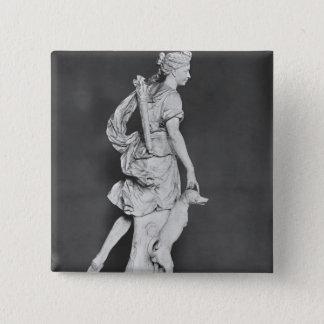 Marie-Adelaide De Savoie Quadratischer Button 5,1 Cm
