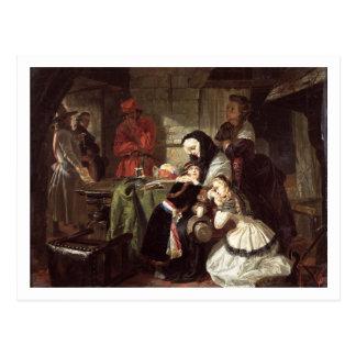 Marie-Antoinette (1753-93) Schluss adieu in das DA Postkarte