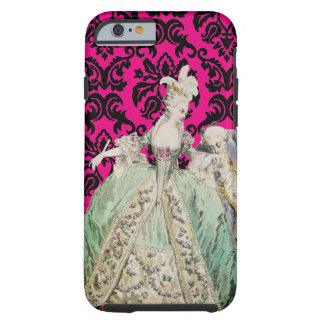 Marie Antoinette ÄNDERUNGS-FARBE - iPhone6/6s Tough iPhone 6 Hülle