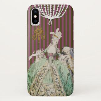 Marie Antoinette ÄNDERUNGS-FARBE - iPhone X Hülle