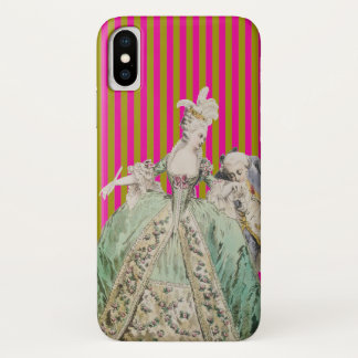 Marie Antoinette ÄNDERUNGS-FARBE (mehr Wahlen) - iPhone X Hülle