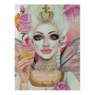 Marie Antoinette - die Kuchenkönigin Postkarte