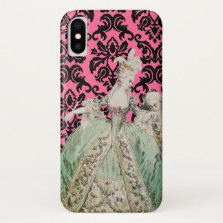 Marie Antoinette (mehr Wahlen) - iPhone X Hülle