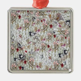 Marie Antoinette Silbernes Ornament