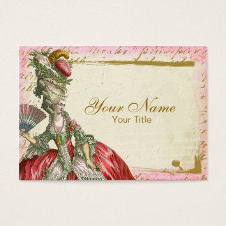 Marie Antoinette Versailles Visitenkarte