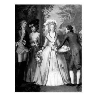 Marie-Antoinette von Habsburger-Lothringen Postkarte